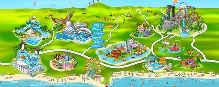 pacchetto parchi divertimento e hotel